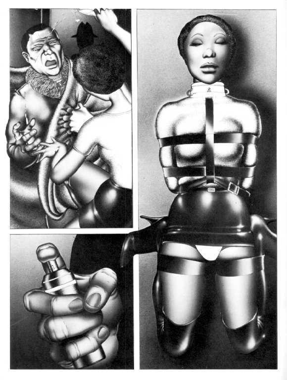 Bdsm comic catalog, women najed body builders