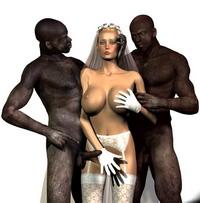 3d interracial love