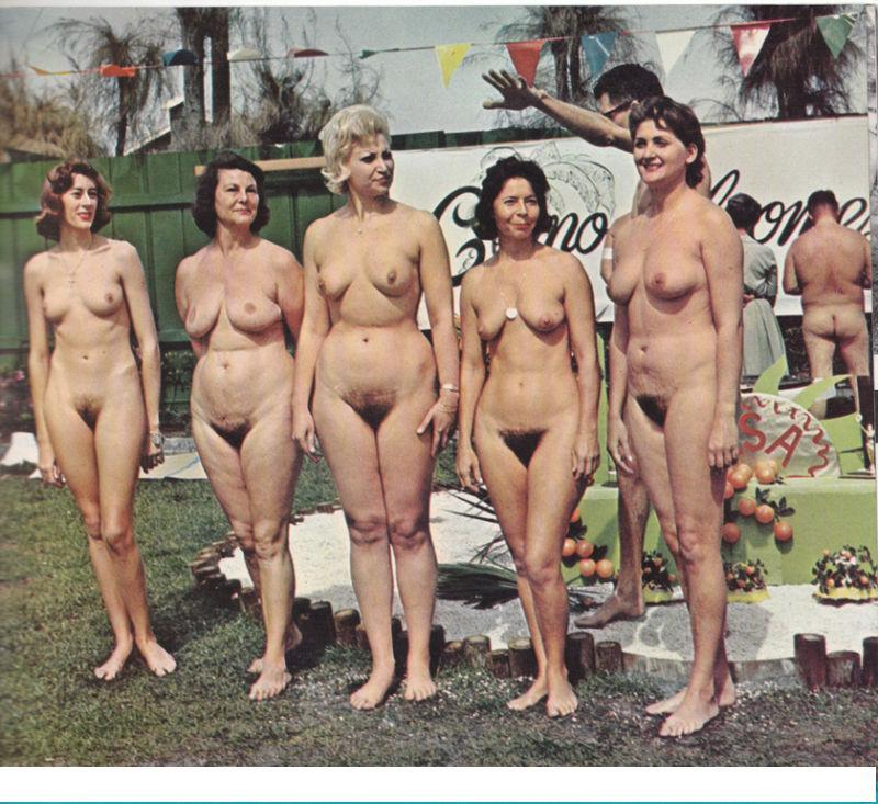 vintage beach breast contest