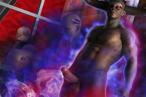 Black sex demon