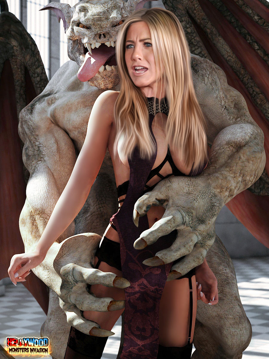 fucking Jennifer monsters aniston